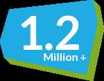 1.2 Million Virtual Classrooms Created