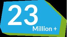 23 Million students quizzed